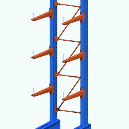 Single-Side+Cantilever+Rack
